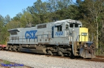 CSXT 7588 C40-8